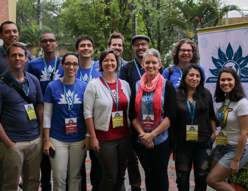 WordCamp Medellin: organisers and speakers