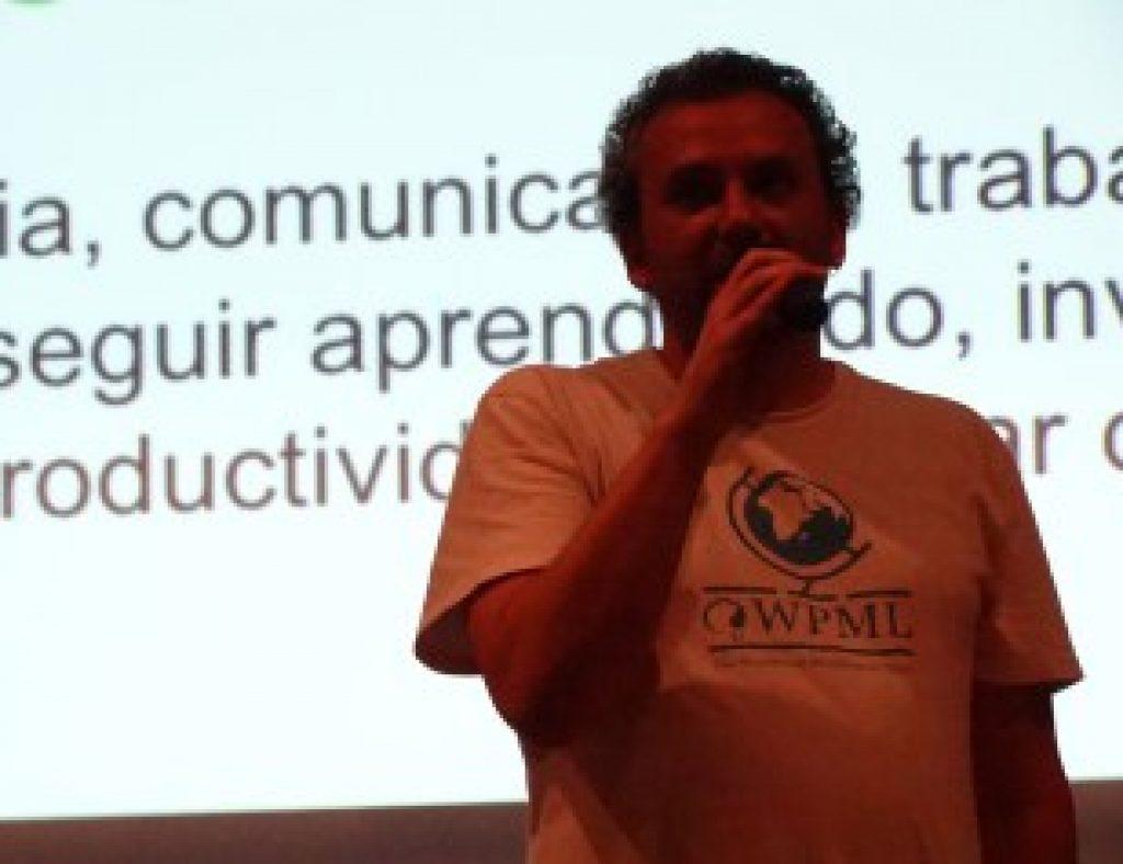 Otto Wald at WordCamp Sao Paulo
