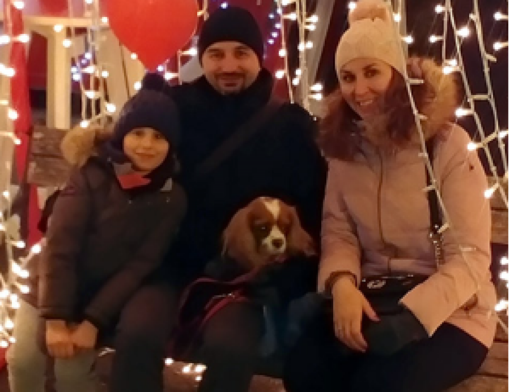 My family and our pet dog